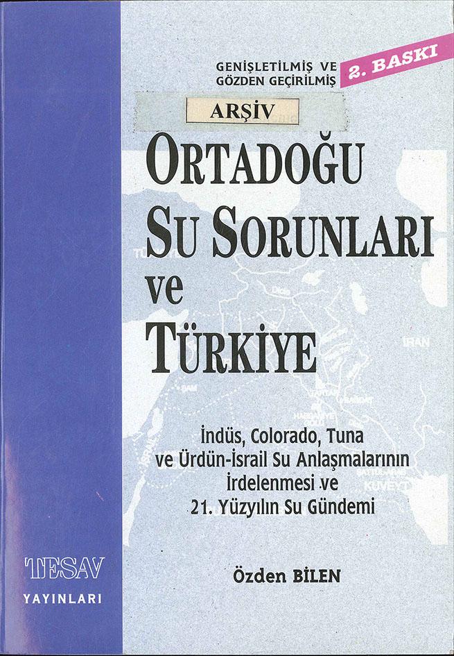 Ortadoğu Su Sorunları ve Türkiye