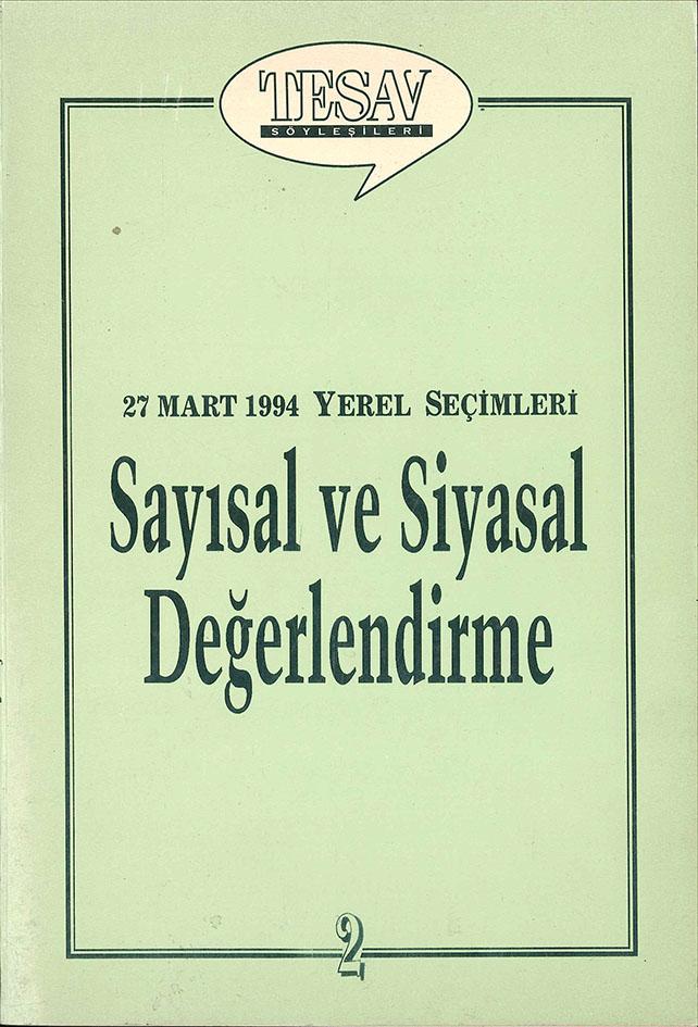 27 Mart 1994 Yerel Seçimleri