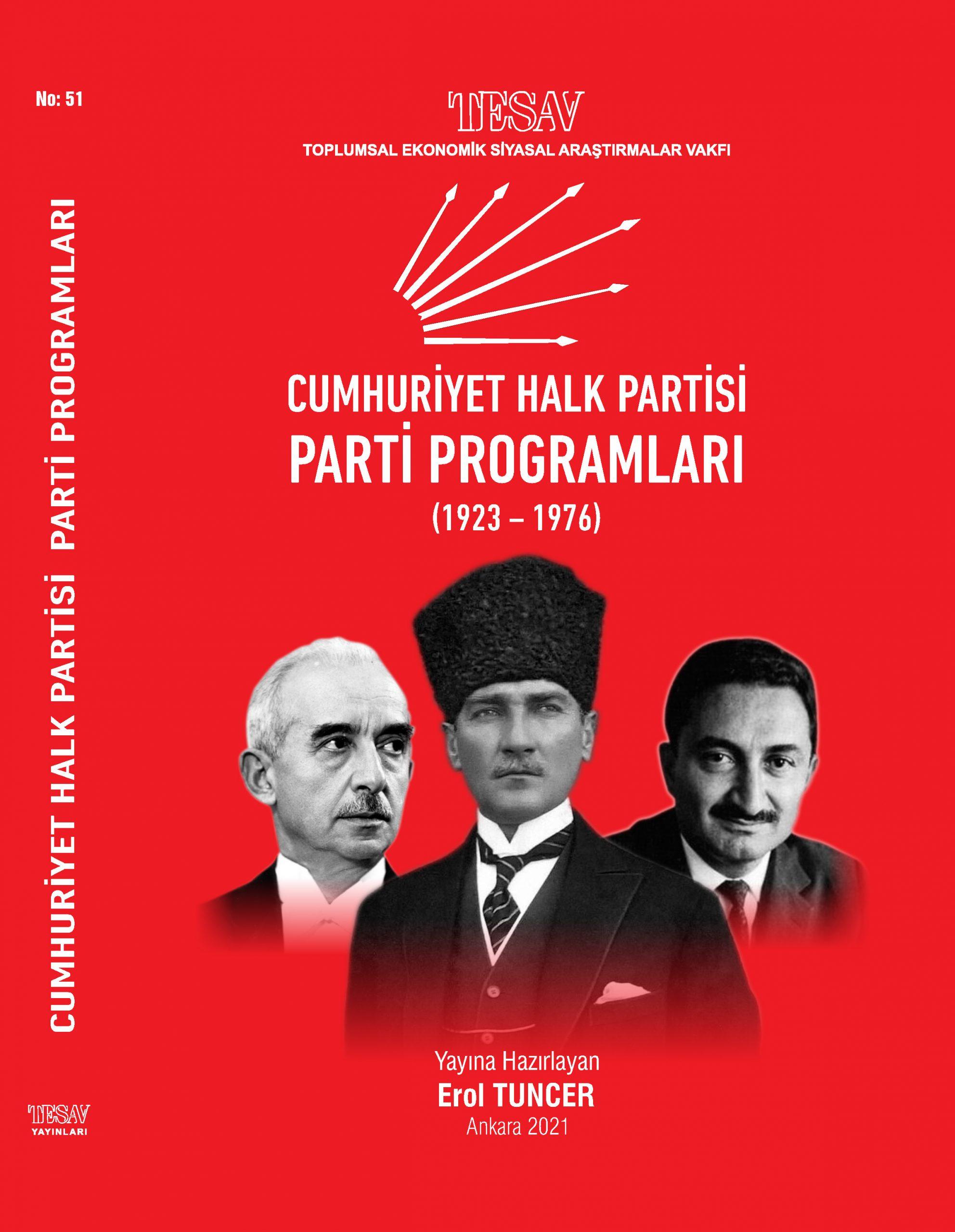 CHP Parti Programları (1923-1976)